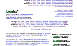 Localzz Media is a LOCAL INFORMATION NETWORK (LocalInformationNetwork.com) and local advertising ne